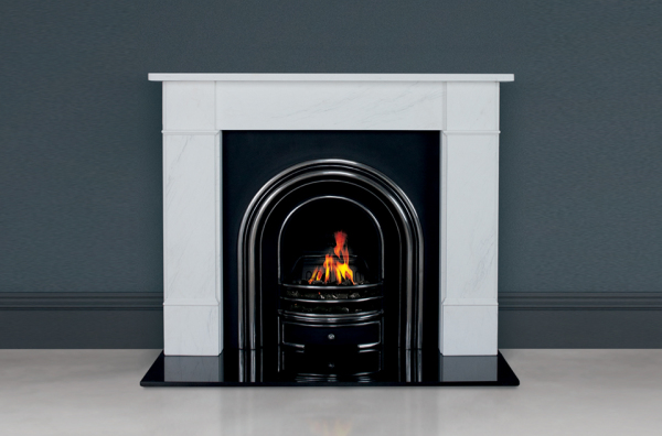 """Flat Victorian Classic 58"""" in White Marble"""