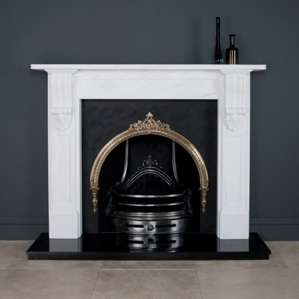 William IV Corbel in Imperial White Marble