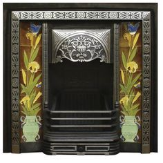Aladdin Cast Iron Fireplace Insert