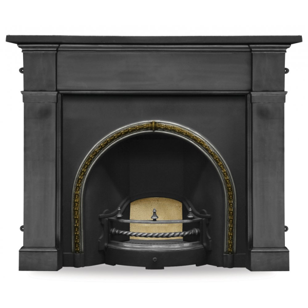 Kensington Cast Iron Fireplace Insert