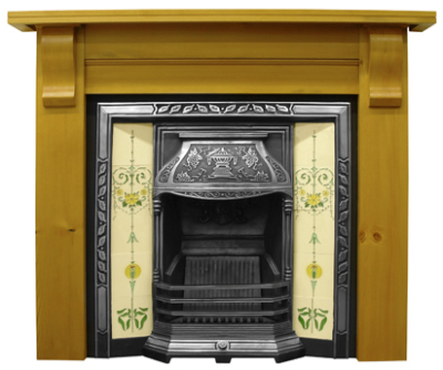 Laurel Cast Iron Fireplace Insert