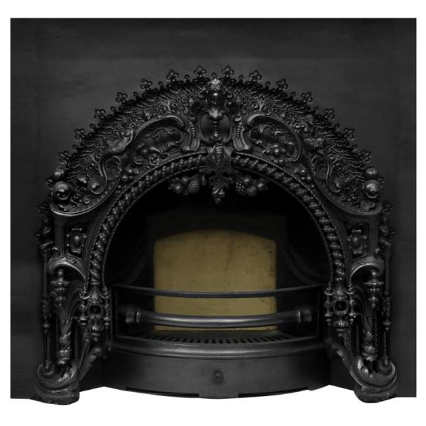 Rococo Cast Iron Fireplace Insert