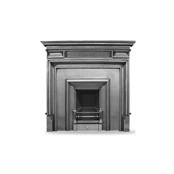 Royal (Narrow) Cast Iron Fireplace Insert