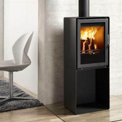 Westfire Uniq 35 Pedestal CC 4.3Kw Wood Burner