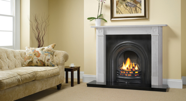 Decorative Arched Insert Fireplaces