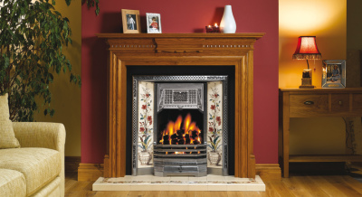 Victorian Tiled Fireplace Fronts