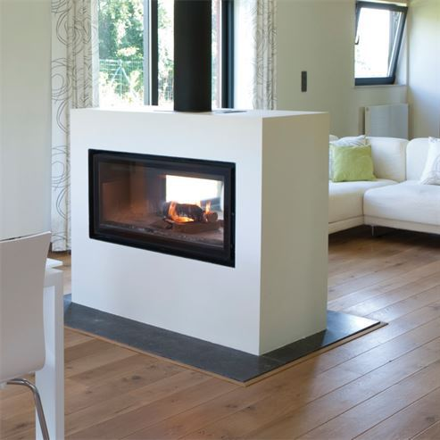 Jide Decor 16/9 Double Fronted Plus 8-11Kw Wood Burner