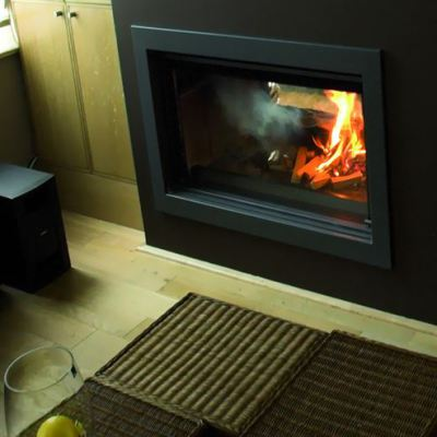 Jide Decor 77 Double Fronted Plus 7-10Kw Wood Burner