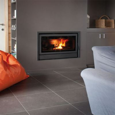 Maxivision 16/9 PL with Lifting Door 10-13Kw Wood Burner