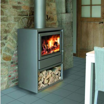 Nordic 67/60 Housing Wall Space 7-9Kw Wood Burner