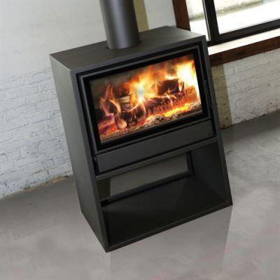 Nordic 77/60 Housing Wall Space 8-11Kw Wood Burner
