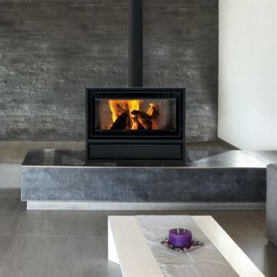 Decor Plus 77 DF Housing Free Space 7-10Kw Wood Burner