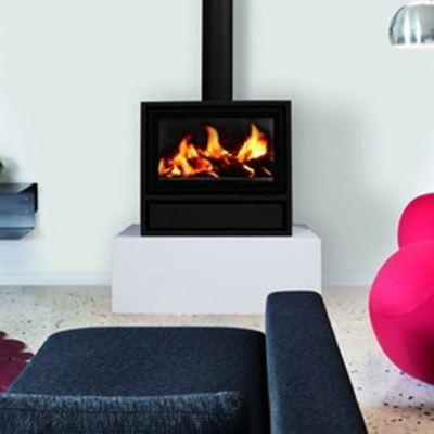 Decor Plus 77 Housing Free Space7-11Kw Wood Burner