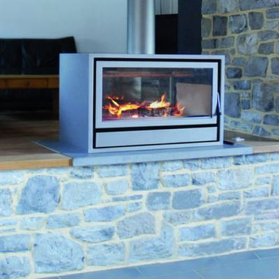 Maxivision 16/9 Housing Free Space 11-14Kw Wood Burner