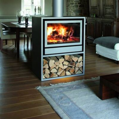 Jide Maxivision 16/9 DF Housing Central Space 10-12Kw Wood Burner