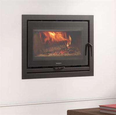 Sere 70 Inset with 900mm 3 Sided Frame 8Kw Wood Burner
