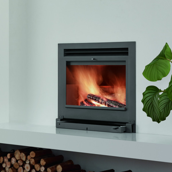 Open Fire A700 11.7Kw Wood Burning Inset