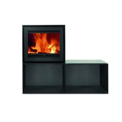 Versatile Double Cube 8Kw Wood Burner