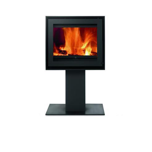 Versatile Square Pedestal 8KW Wood Burner