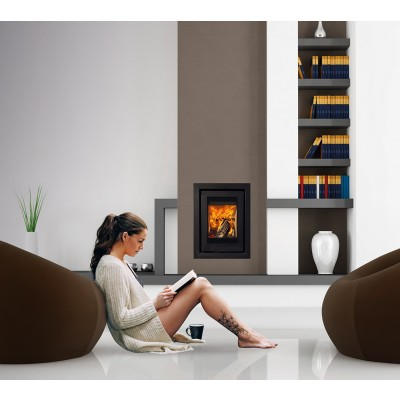 Di Lusso R4 6.5Kw Wood Burning Insert