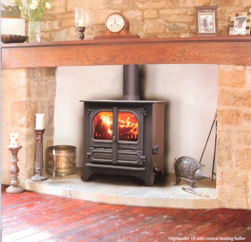 Dunsley Heat Highlander 10 CH Boiler Multi Fuel