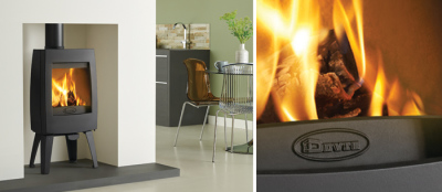 Sense 100 5Kw Wood Burner
