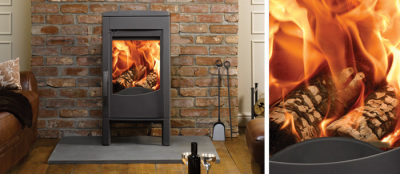 Astroline 1CB 9Kw Wood Burner