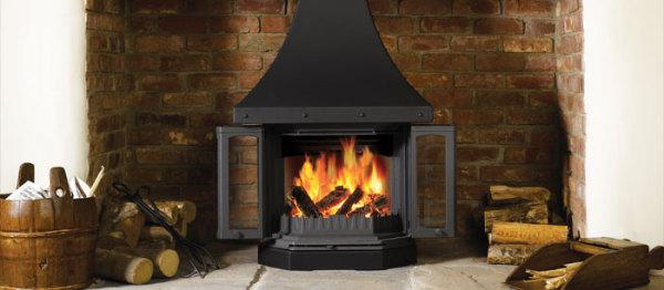 2300 CB 9Kw Wood Burner