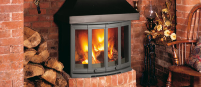 2400 CB 9Kw Wood Burner