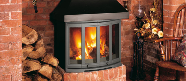 2400 CB 9Kw Wood Burner