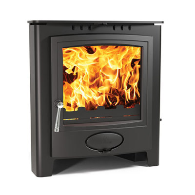 Arada Aarrow Ecoburn 5 Plus Inset 4.8Kw Multi Fuel