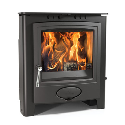 Aarrow Ecoburn 7 Plus 7.1Kw Multi Fuel Inset