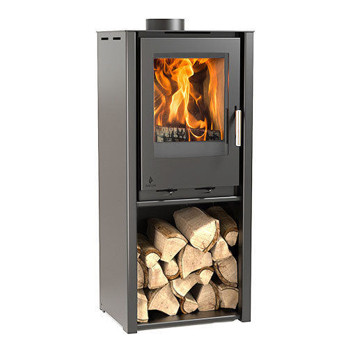 Aarrow i400 Freestanding Tall 8Kw Multi Fuel