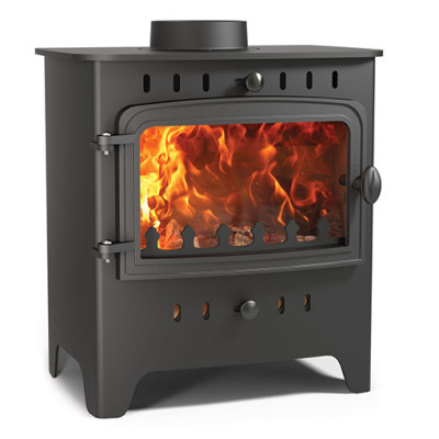 Villager C Wood Solo 5Kw Wood Burner