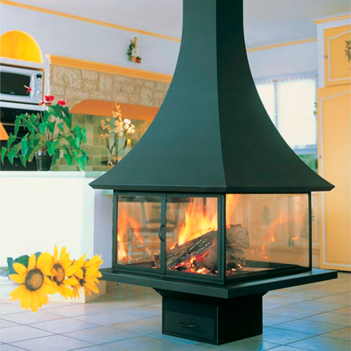 Julietta 985-100 Central 15Kw Wood Burning Stove