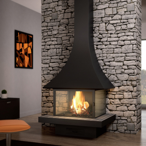 Julietta 985 Mural 15Kw Wood Burning Stove