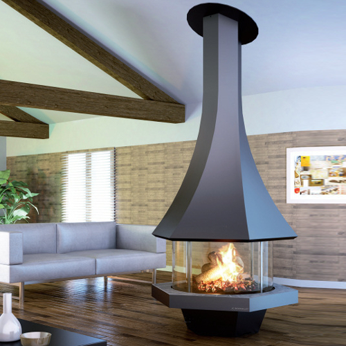 Eolia 907 Central 11Kw Wood Burning Stove