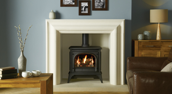 Ashdon Gas Stoves - Clear Door