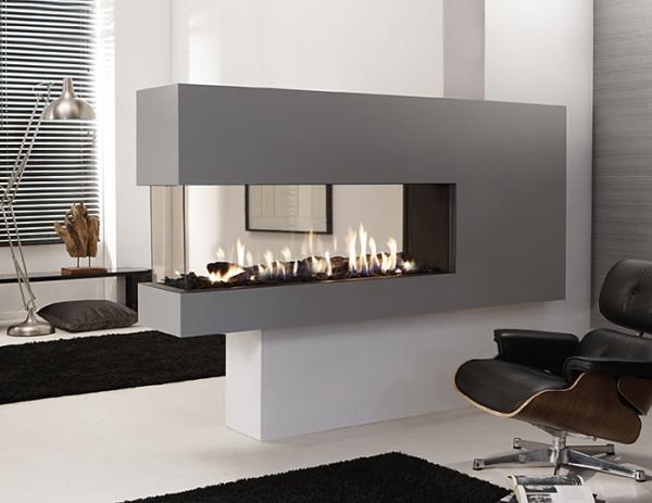 X-FIRE L140 Room Divider 3 Sides 9.5Kw
