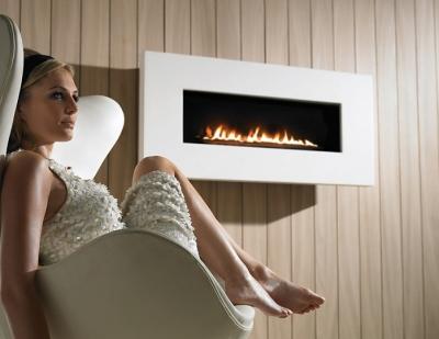 X-FIRE Widescreen - Limestone 3.5Kw