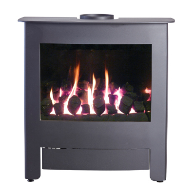Verona 6 Black Gas 4.8Kw