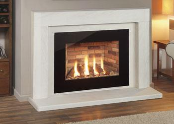 The Synergy Perspective Glass Balanced Flue 4.8Kw