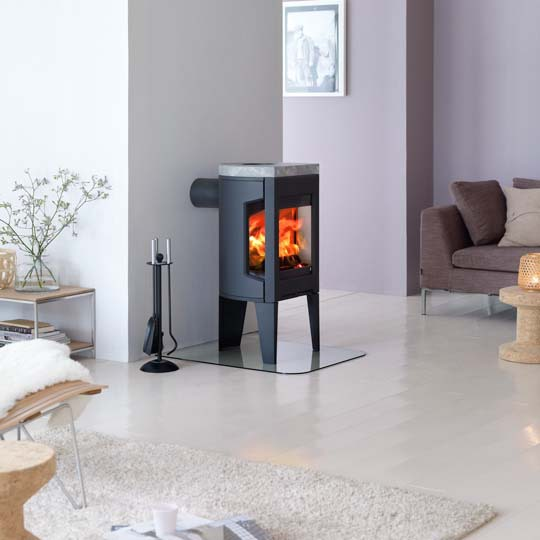 F163 9Kw Wood Burner