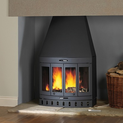 I400 Cleanburn 9Kw Wood Burner