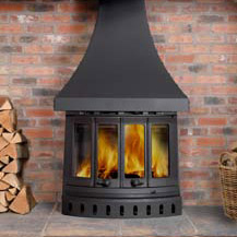 I80 Maxi Cleanburn 13Kw Wood Burner
