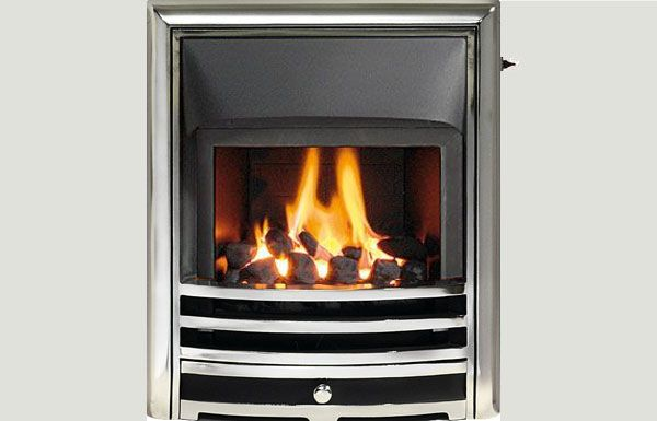 Glass fronted - Capella fireframe glass fronted gas convector fire Full polished