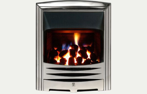 Open fronted - Abri fireframe open fronted gas convector fire Full polished