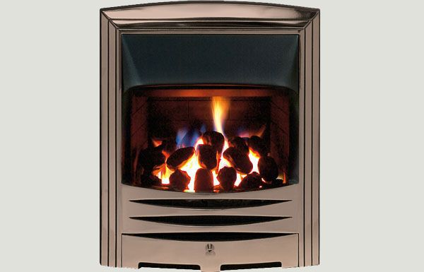 Open fronted - Abri fireframe open fronted gas convector fire Bronze finish