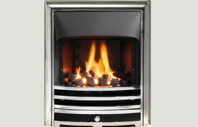 Open fronted - Capella fireframe open fronted gas convector fire Full polished