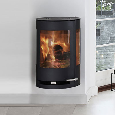 Aduro 9-4 Wall Mounted 9Kw Wood Burner